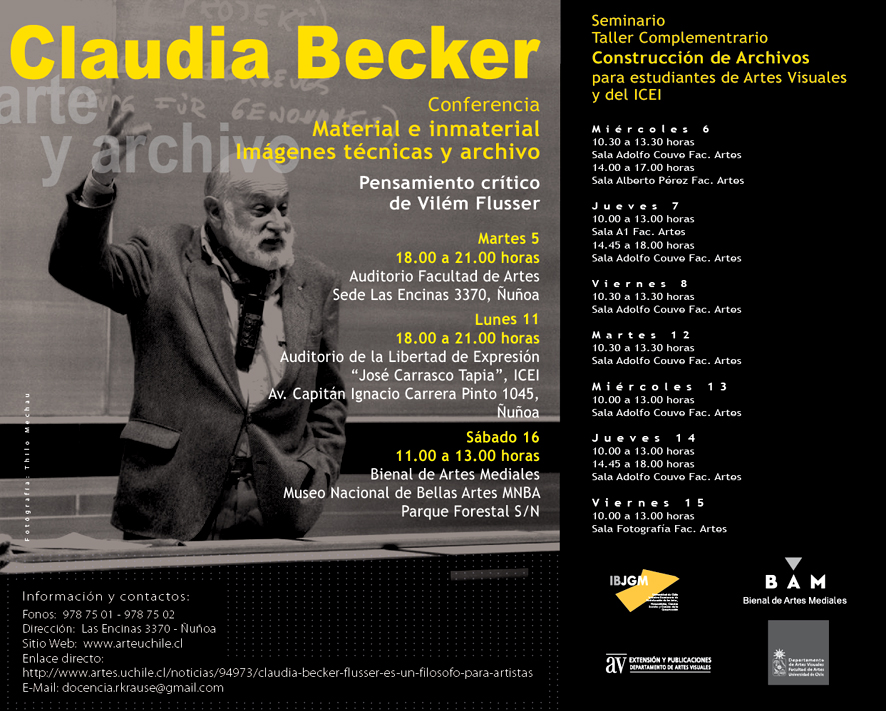 flyer Claudia Becker