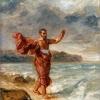 06_Eugene Delacroix_Demóstenes declamando por la orilla del mar, aprox. 1860